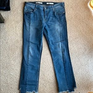 Pilcro parallel jeans two tone 32 stretch